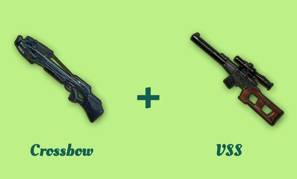 クロスボウと VSS の組み合わせ