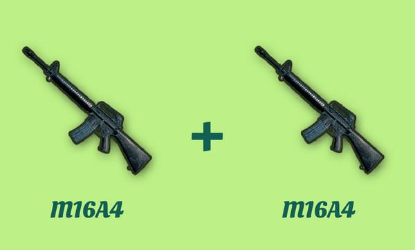 M16A4 と M16A4 の組み合わせ