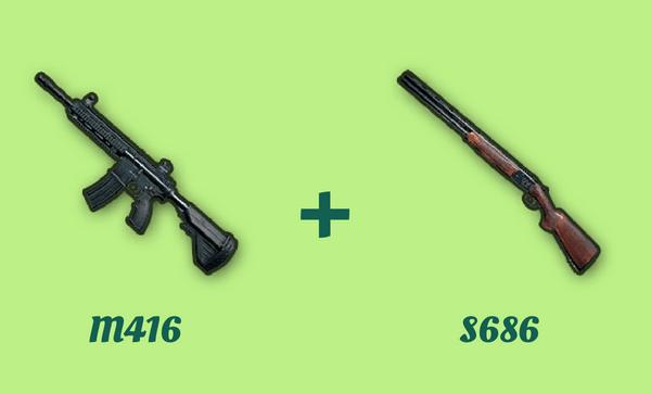 M416 と S686 の組み合わせ