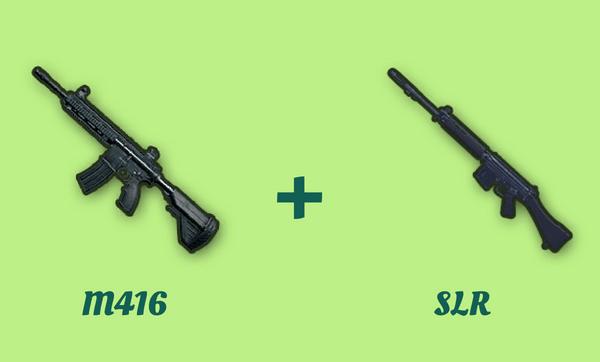 M416 と SLR の組み合わせ