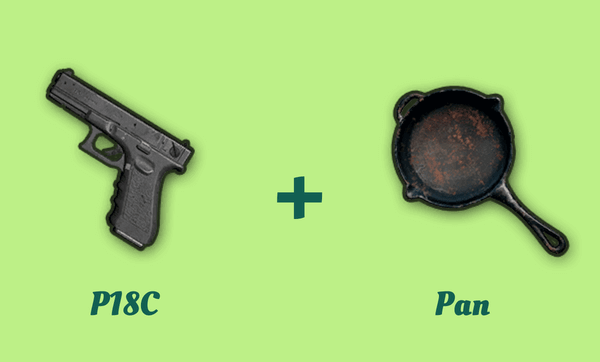 P18C とフライパンの組み合わせ