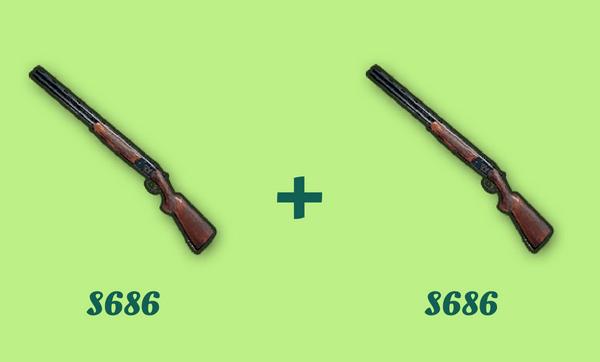 S686 と S686 の組み合わせ