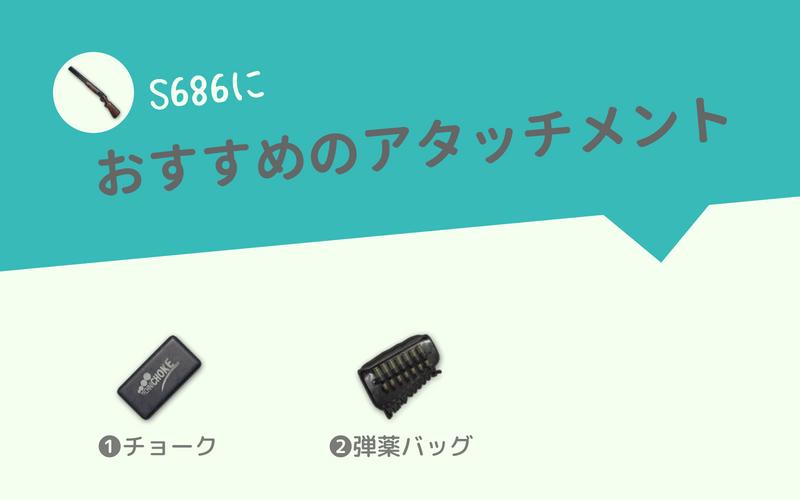 S686におすすめのアタッチメント