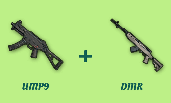 UMP9 と DMR の組み合わせ