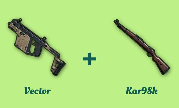 Vector と Kar98k の組み合わせ