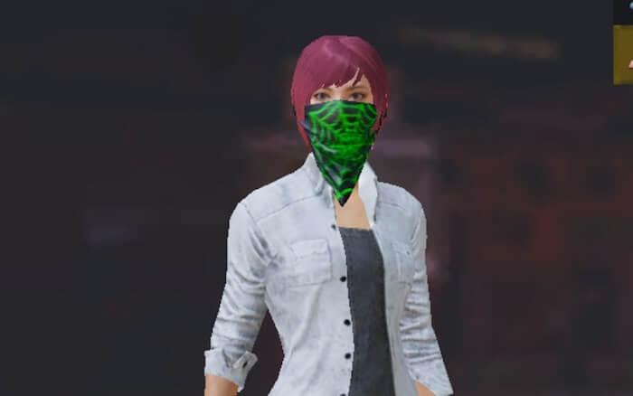 マスク(スパイダー)の画像