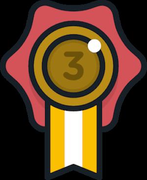 銅メダルの画像