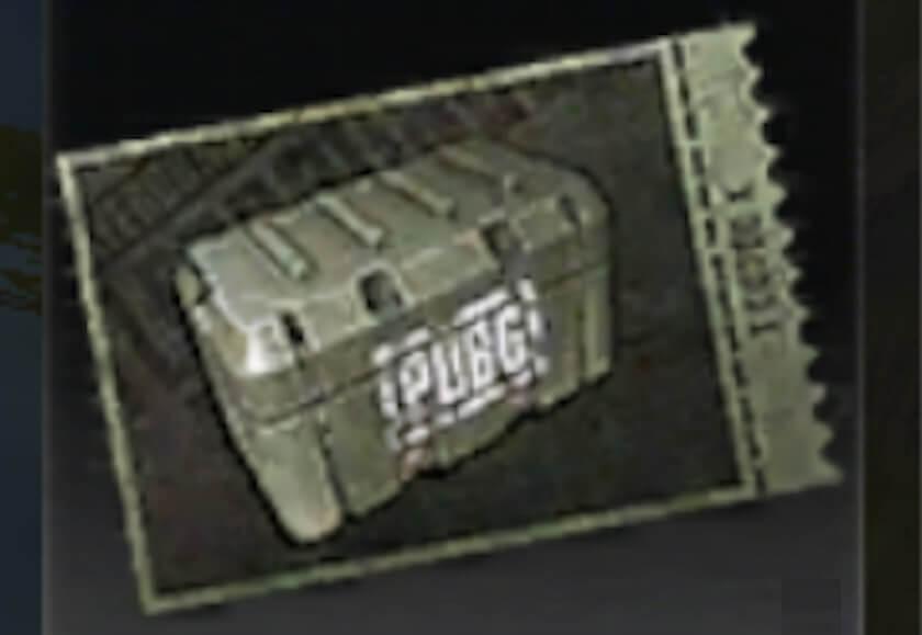 クレートチケットの画像