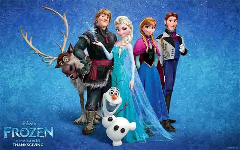 アナと雪の女王シリーズの画像