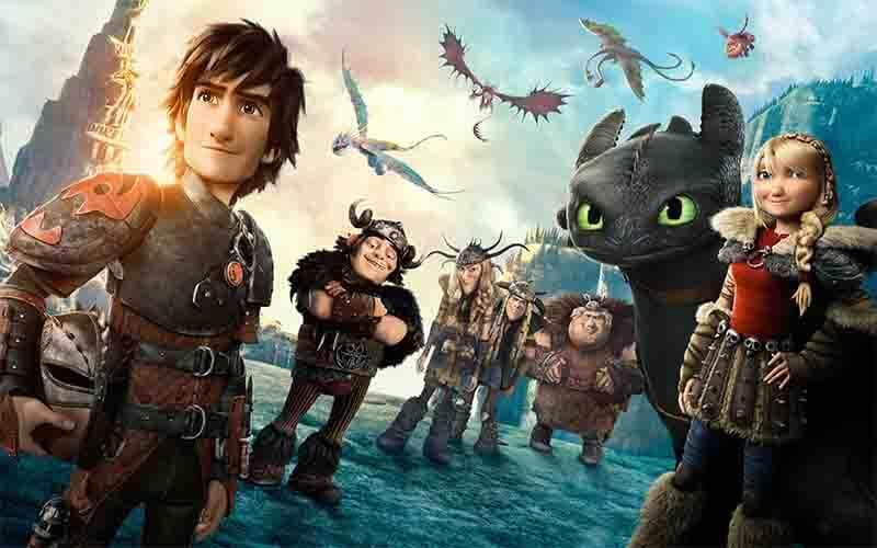 ヒックとドラゴンシリーズの画像
